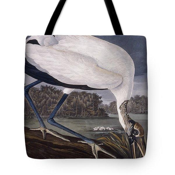 Wood Ibis Tote Bag