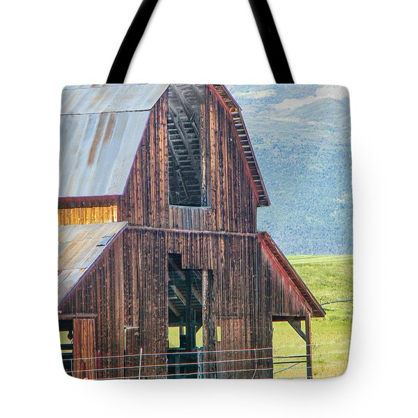 Wood Iron And Hayloft Tote Bag