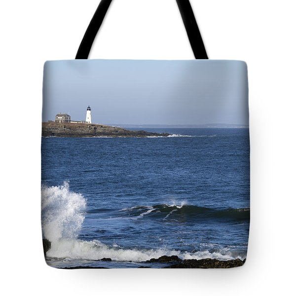 Wood Island Light Tote Bag