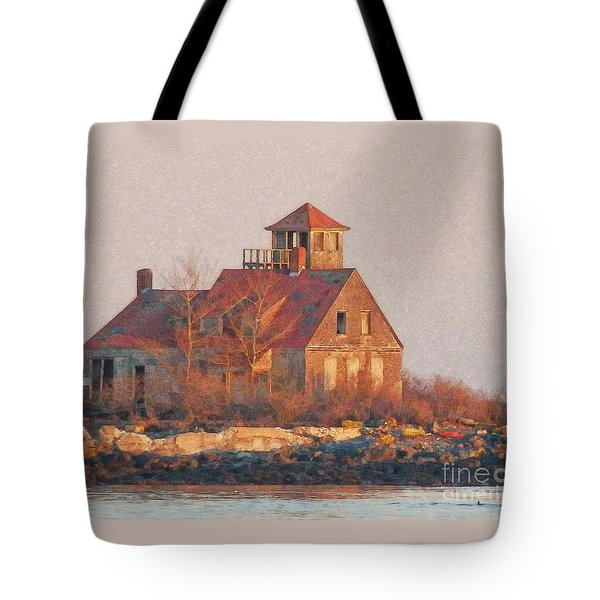 Wood Island Tote Bag