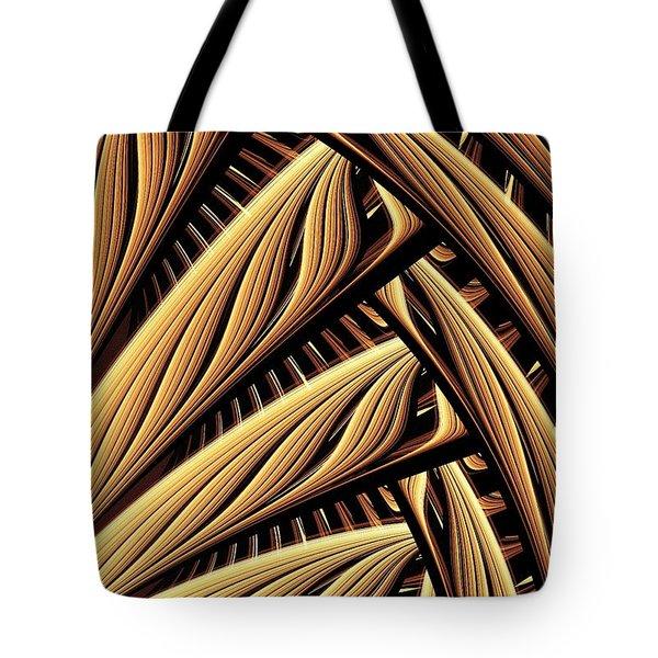 Wood Weaving Tote Bag by Anastasiya Malakhova