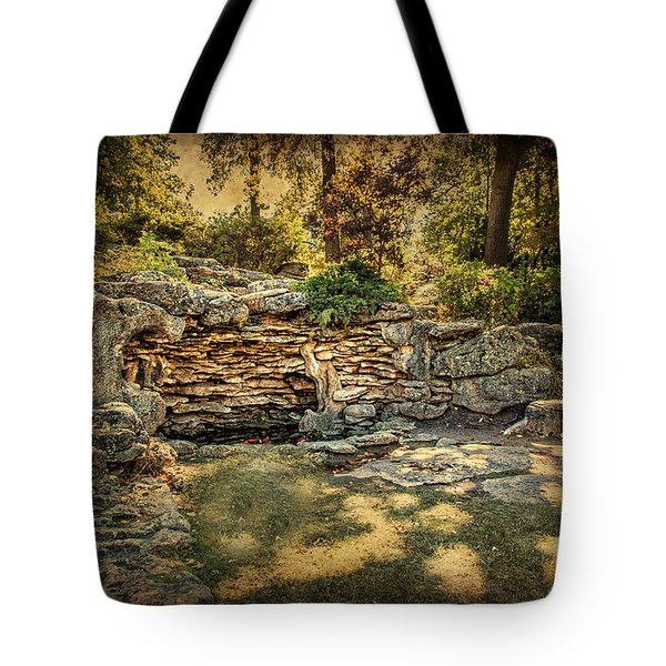Woodard Park Koi Pond Tote Bag by Tamyra Ayles
