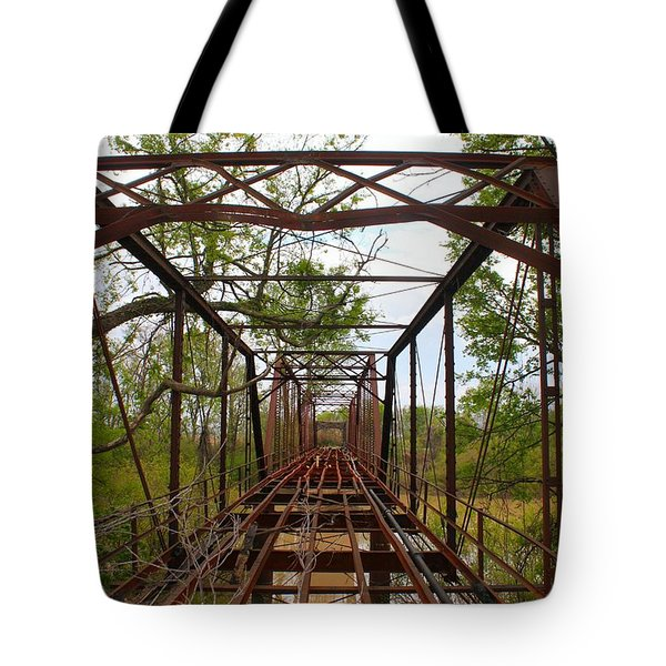 Woodburn Bridge Indianola Ms Tote Bag