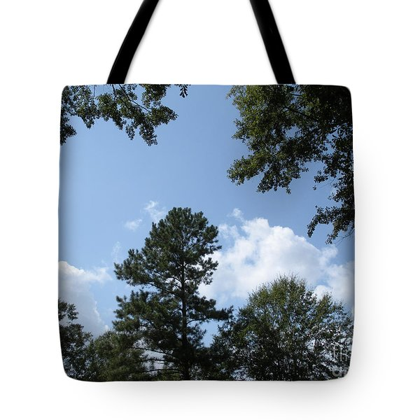 Wooded Forest  Tote Bag