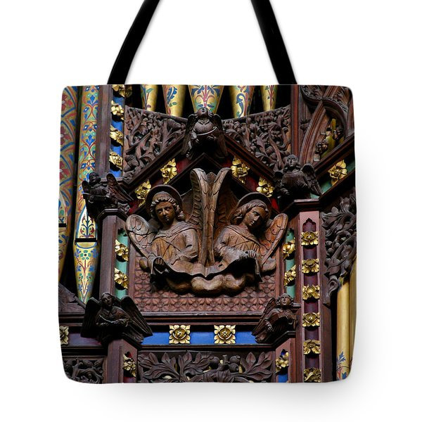 Wooden Angels Ely Cathedral Tote Bag