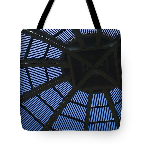 Wooden Dome Tote Bag
