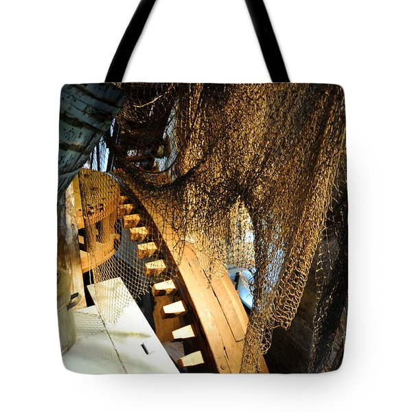 Wooden Gears Tote Bag