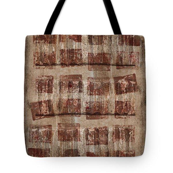 Wooden Paper Tote Bag