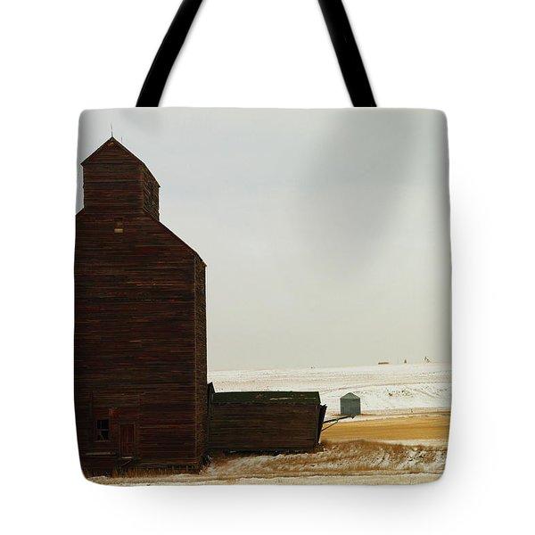 Wooden Silo Tote Bag