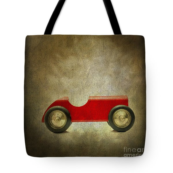Wooden Toy Car Tote Bag