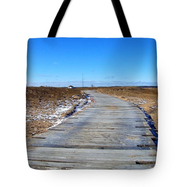 Plum Island Tote Bag by Eunice Miller