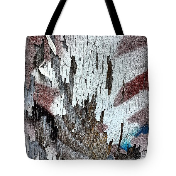 Wooden Wall 5 Tote Bag