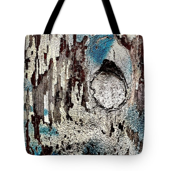Wooden Wall 6 Tote Bag