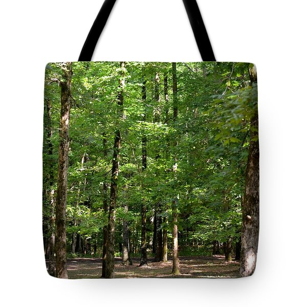 Woodforest 2013 Tote Bag by Maria Urso