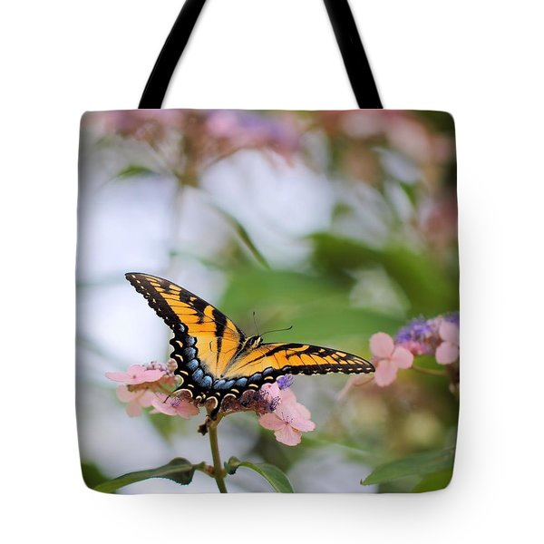 Woodland Butterfly Tote Bag