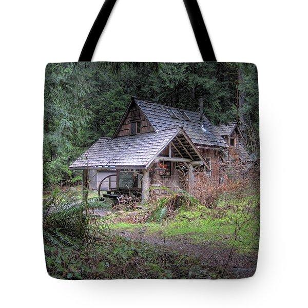 Rustic Cabin Tote Bag