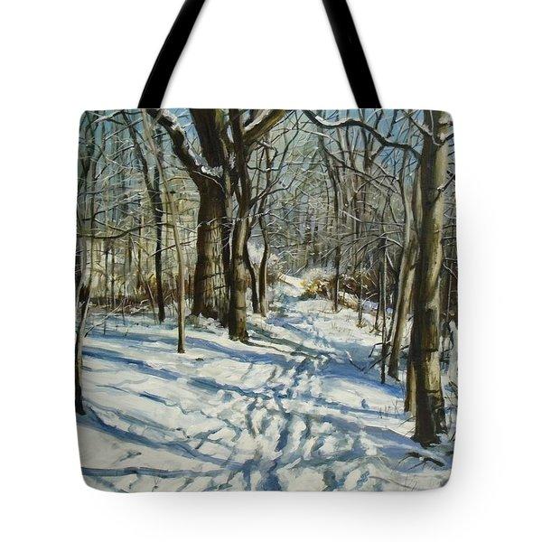 Woodland Journey Tote Bag