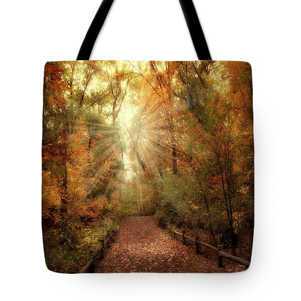 Woodland Light Tote Bag