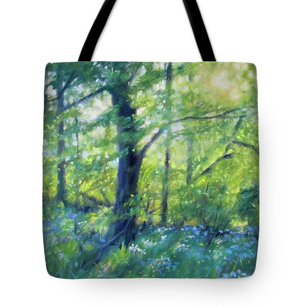 Woodland Sunset Tote Bag by Bonnie Mason