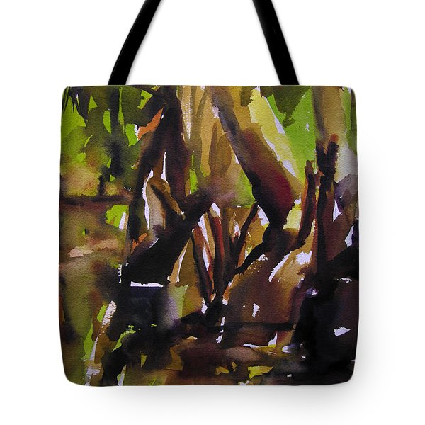 Woods And Creek 2 Tote Bag by Julianne Felton