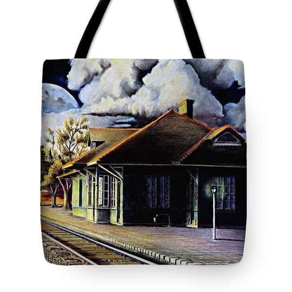 Woodstock Station Tote Bag