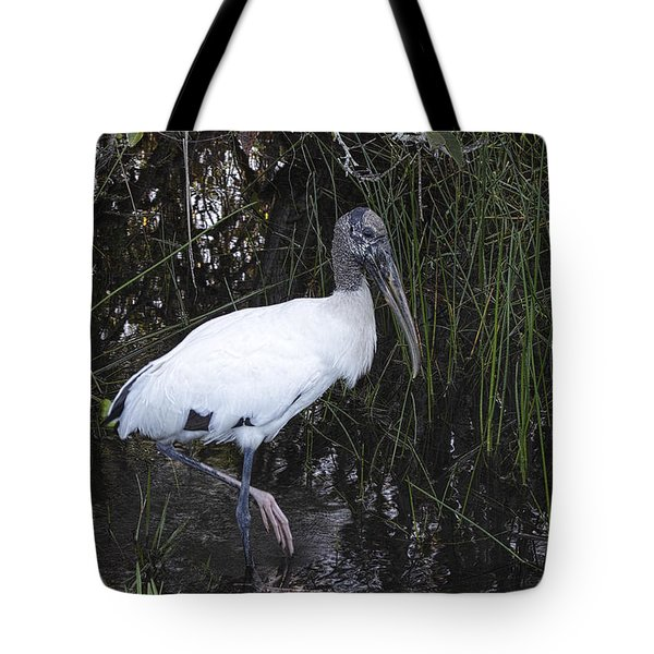 Woodstork Tote Bag
