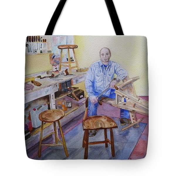 Woodworker Chair Maker Tote Bag