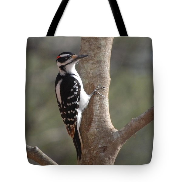Tote Bag featuring the photograph Woody by Mim White