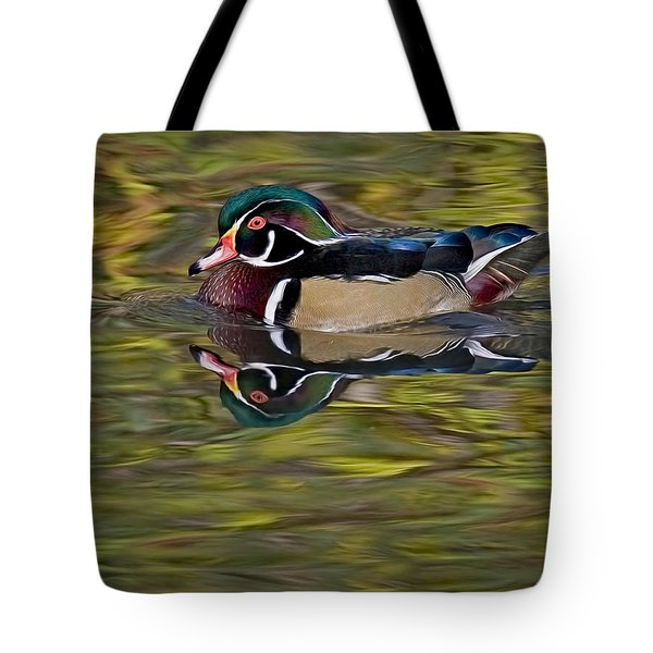 Woody Tote Bag by Susan Candelario