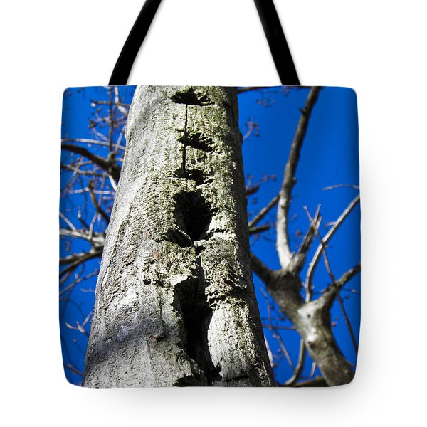 Tote Bag featuring the photograph Woody's Paradise by Nick Kirby