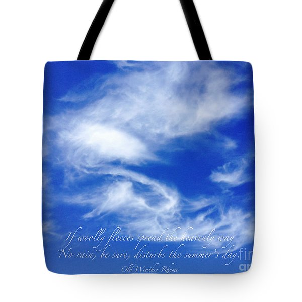 Wooly Fleeces Tote Bag by Gwyn Newcombe