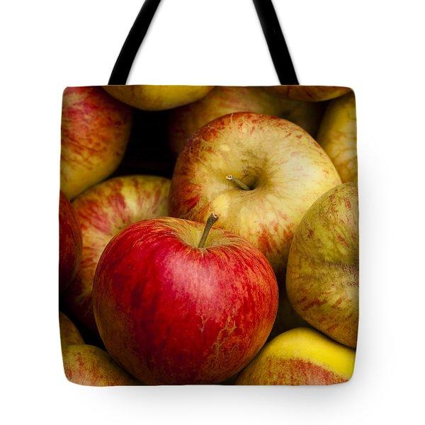 Worcester Pearmain Tote Bag by Anne Gilbert