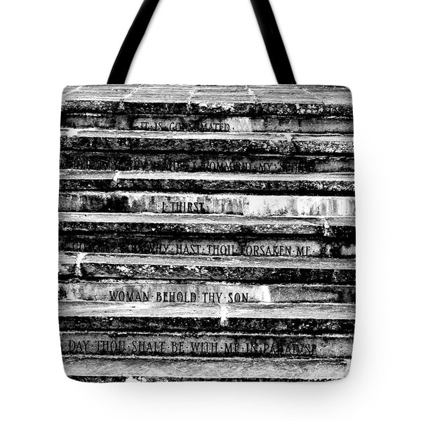 Words Of The Cross Tote Bag
