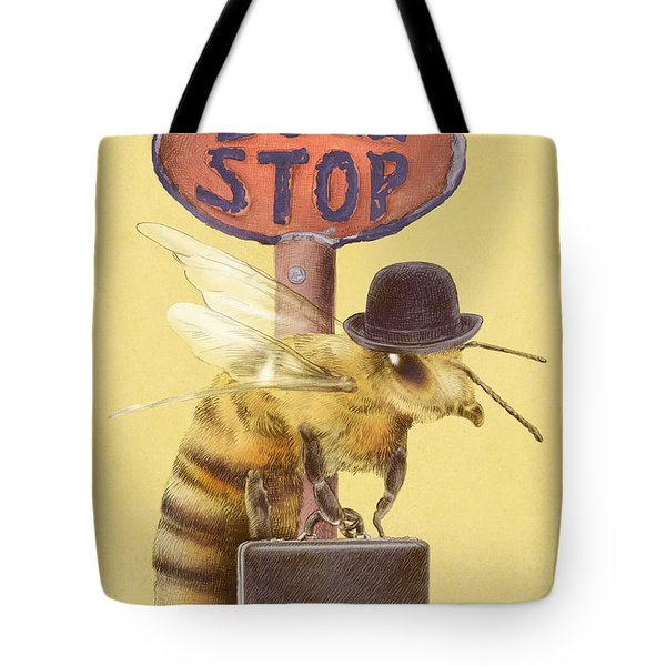 Worker Bee Yellow Option Tote Bag