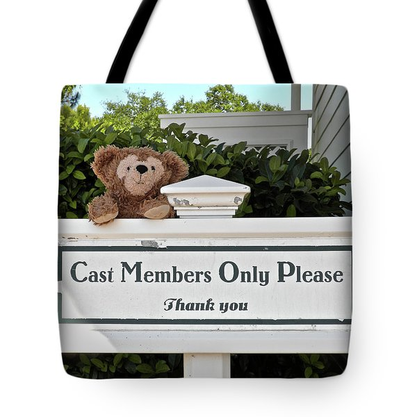 Working Bear Tote Bag by Thomas Woolworth