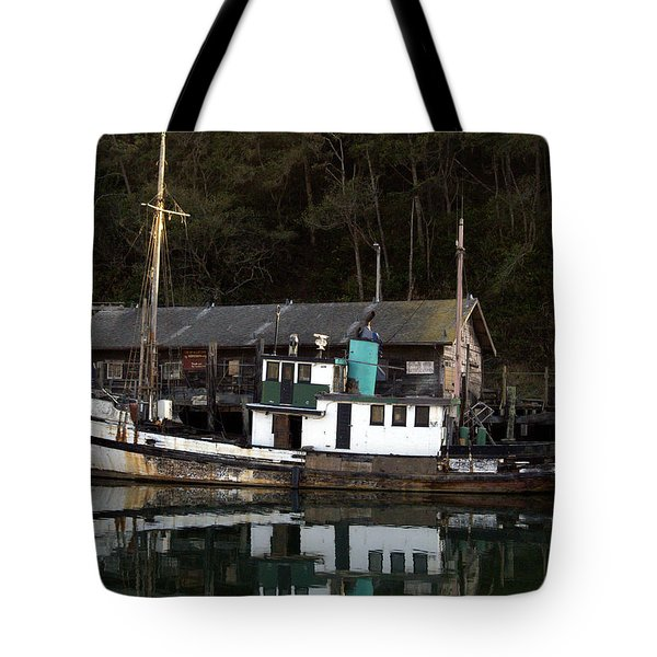 Working Boat Tote Bag