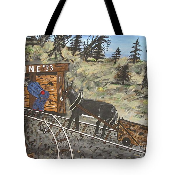 The Coal Mine Tote Bag by Jeffrey Koss