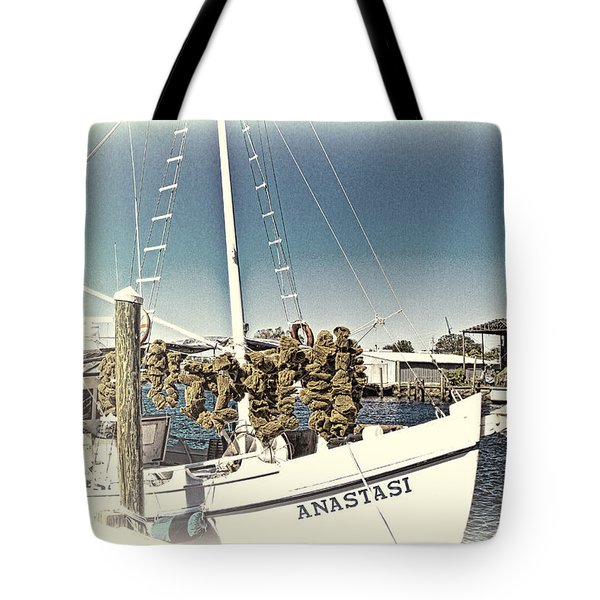 Working Sponge Boat Tote Bag