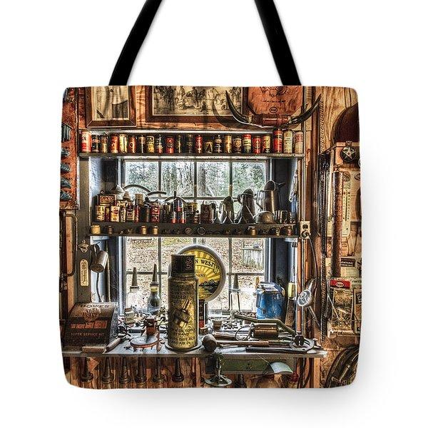 Workshop Tote Bag by Debra and Dave Vanderlaan