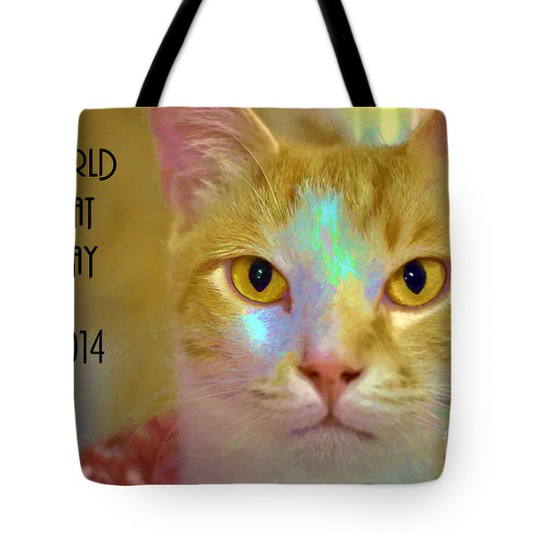 World Cat Day Tote Bag