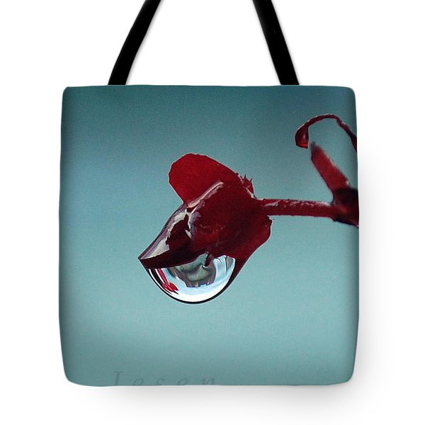 World In A Drop Tote Bag
