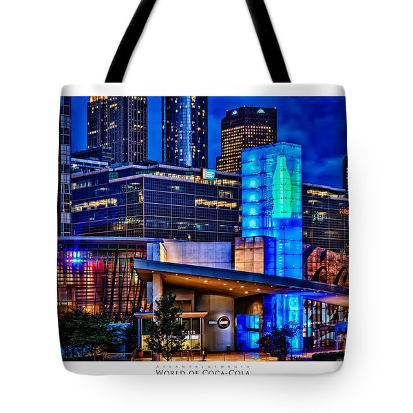 World Of Coca Cola Poster Tote Bag