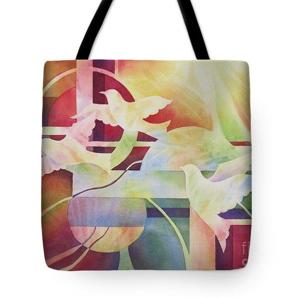 World Peace 2 Tote Bag by Deborah Ronglien