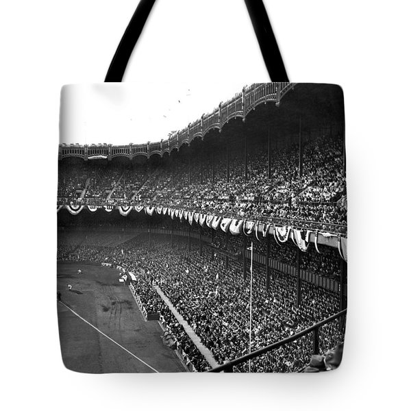 World Series In New York Tote Bag