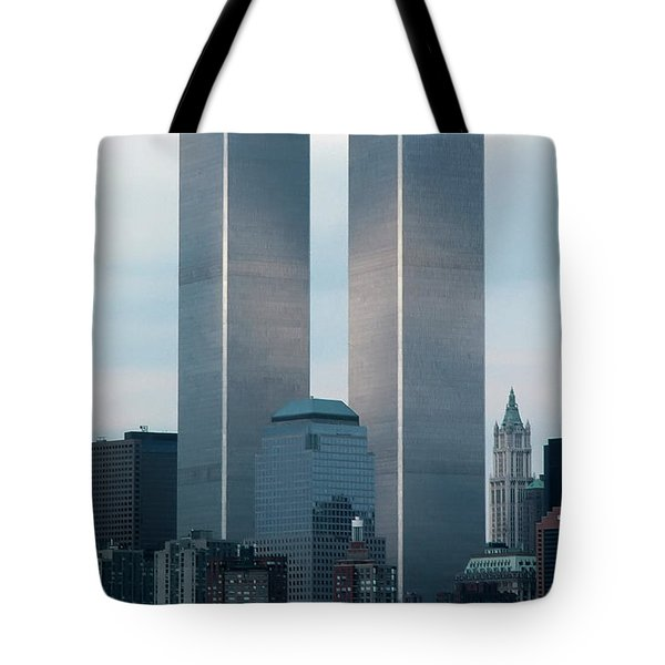 Tote Bag featuring the photograph World Trade Center by KG Thienemann