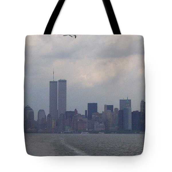 World Trade Center May 2001 Tote Bag by Kenneth Cole