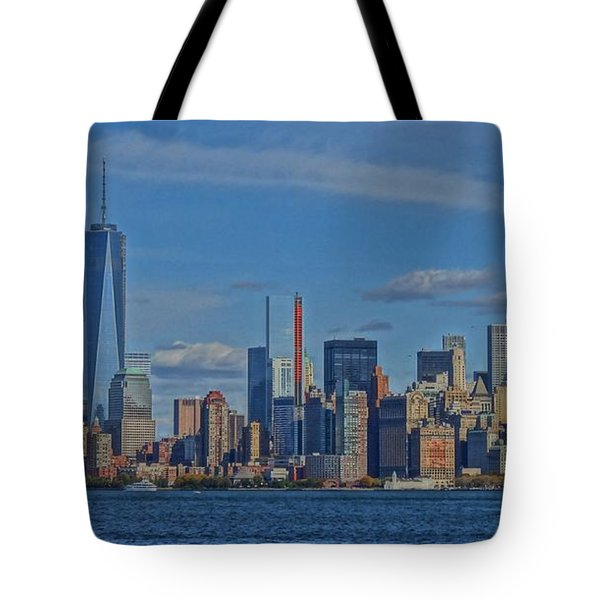 World Trade Center Painting Tote Bag by Dan Sproul
