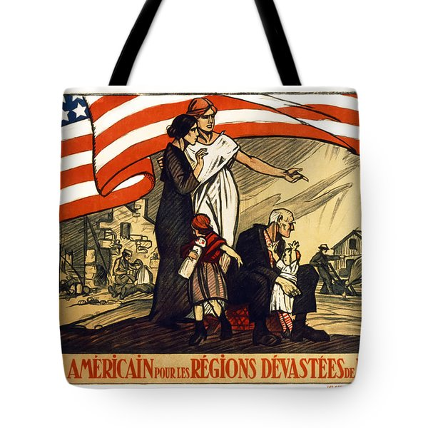 World War 1 Relief - France - 1917 Tote Bag by Daniel Hagerman