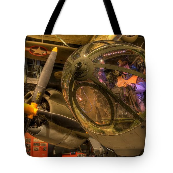 World War 2 Bomber Tote Bag
