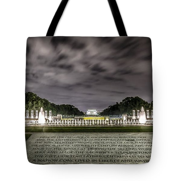 World War II Memorial Tote Bag